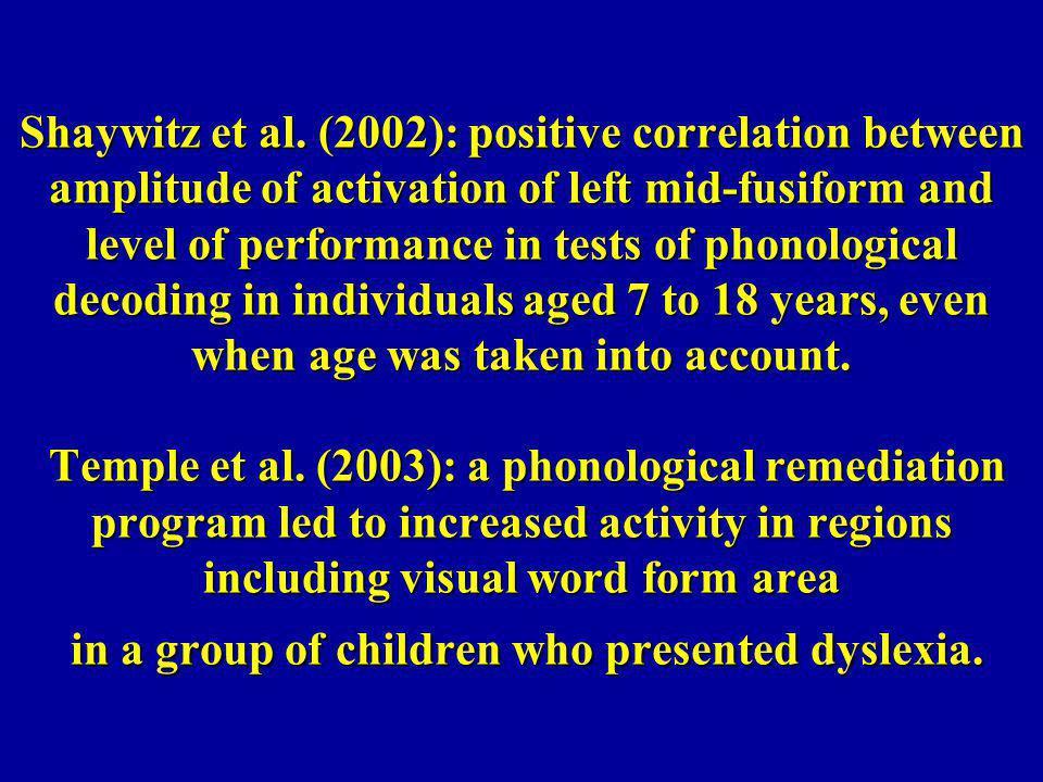 Shaywitz et al.