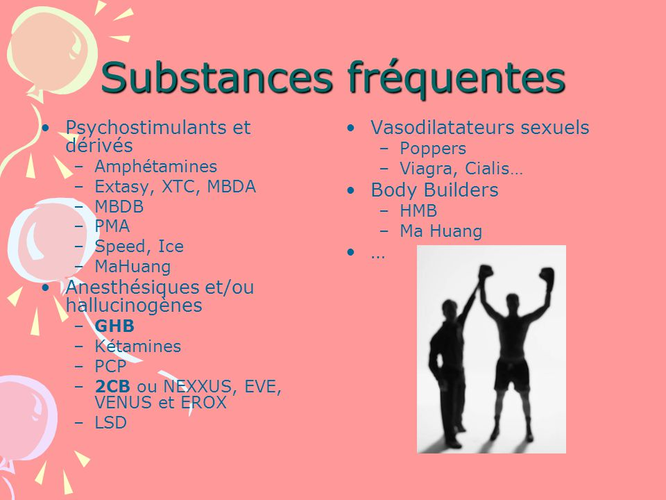 Substances fréquentes