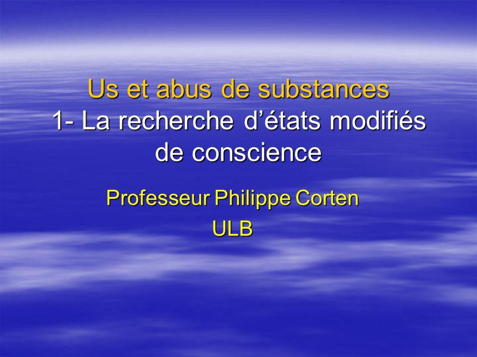 Professeur Philippe Corten ULB