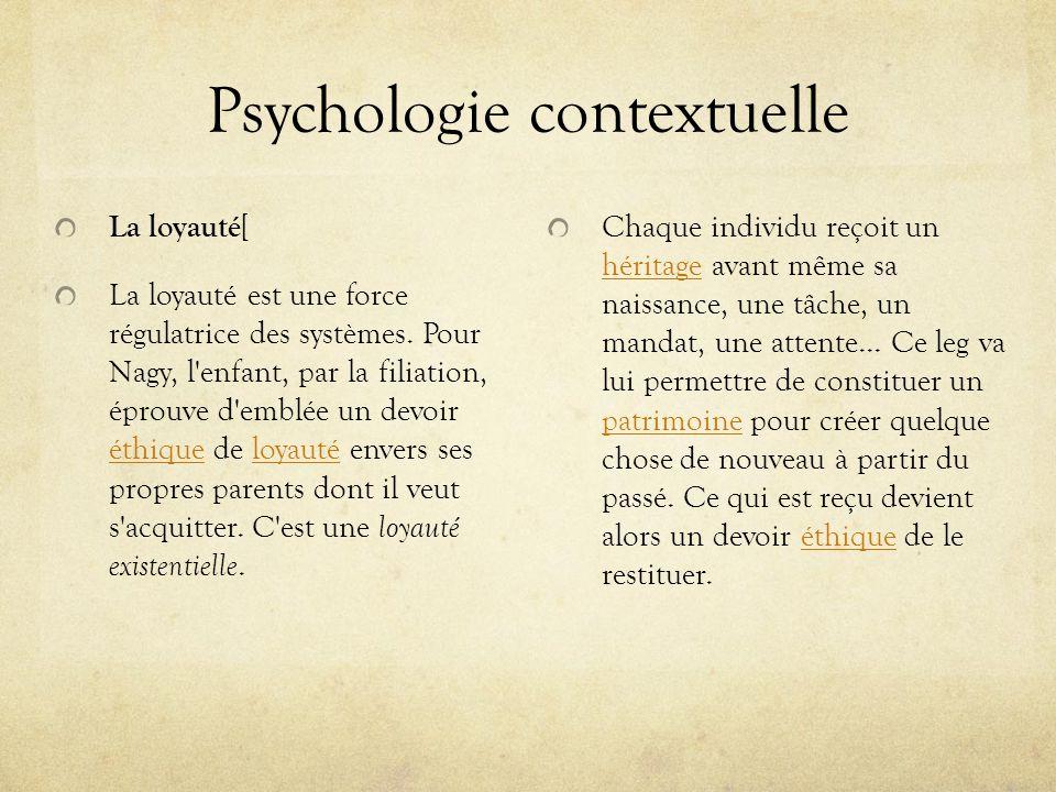 Psychologie contextuelle