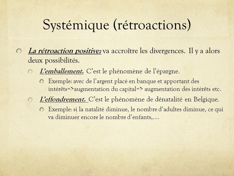 Systémique (rétroactions)