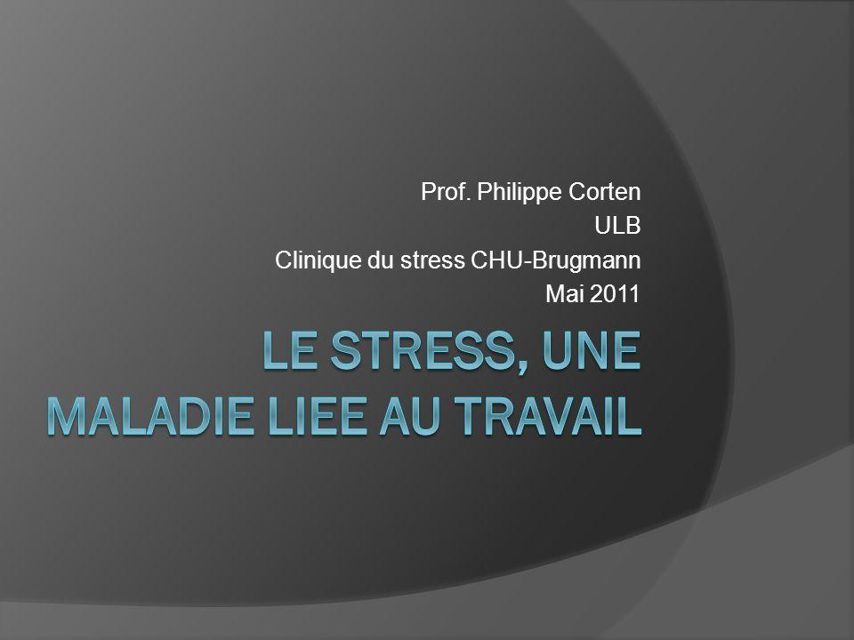 LE STRESS, UNE MALADIE LIEE AU TRAVAIL