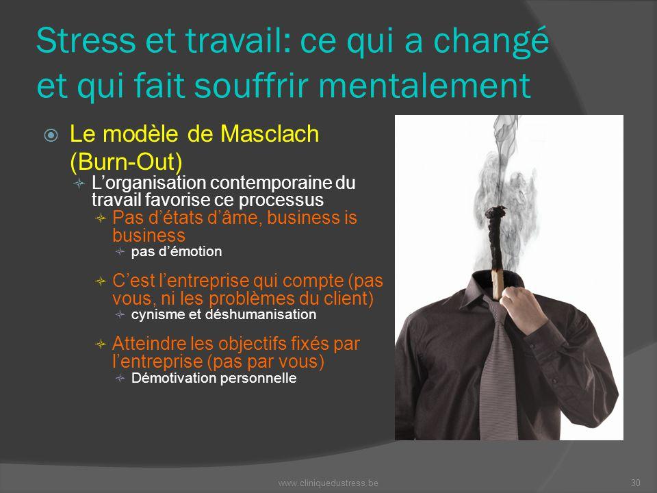 Stress et travail: ce qui a changé et qui fait souffrir mentalement