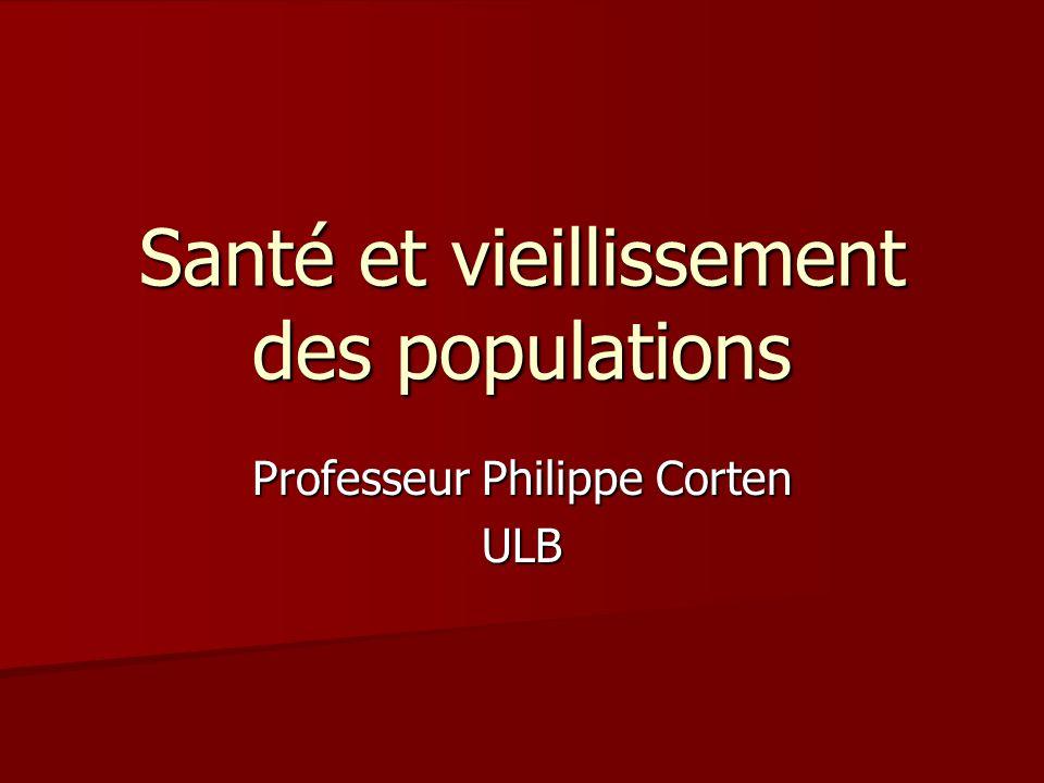 Santé et vieillissement des populations