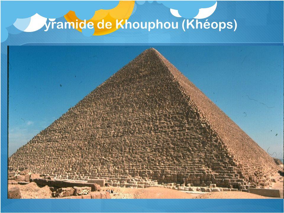 Pyramide de Khouphou (Khéops)