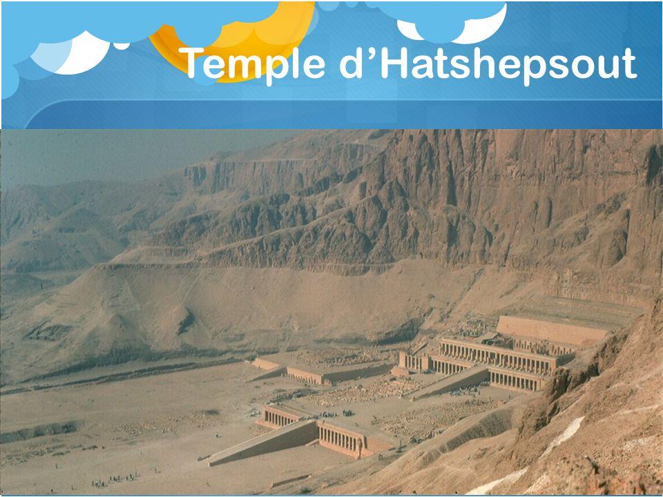Temple d'Hatshepsout