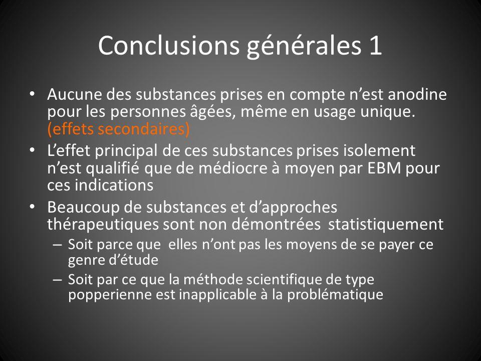 Conclusions générales 1