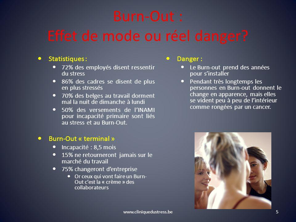 Burn-Out : Effet de mode ou réel danger