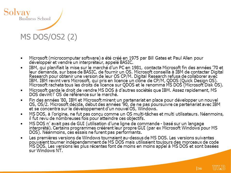 MS DOS/OS2 (2)