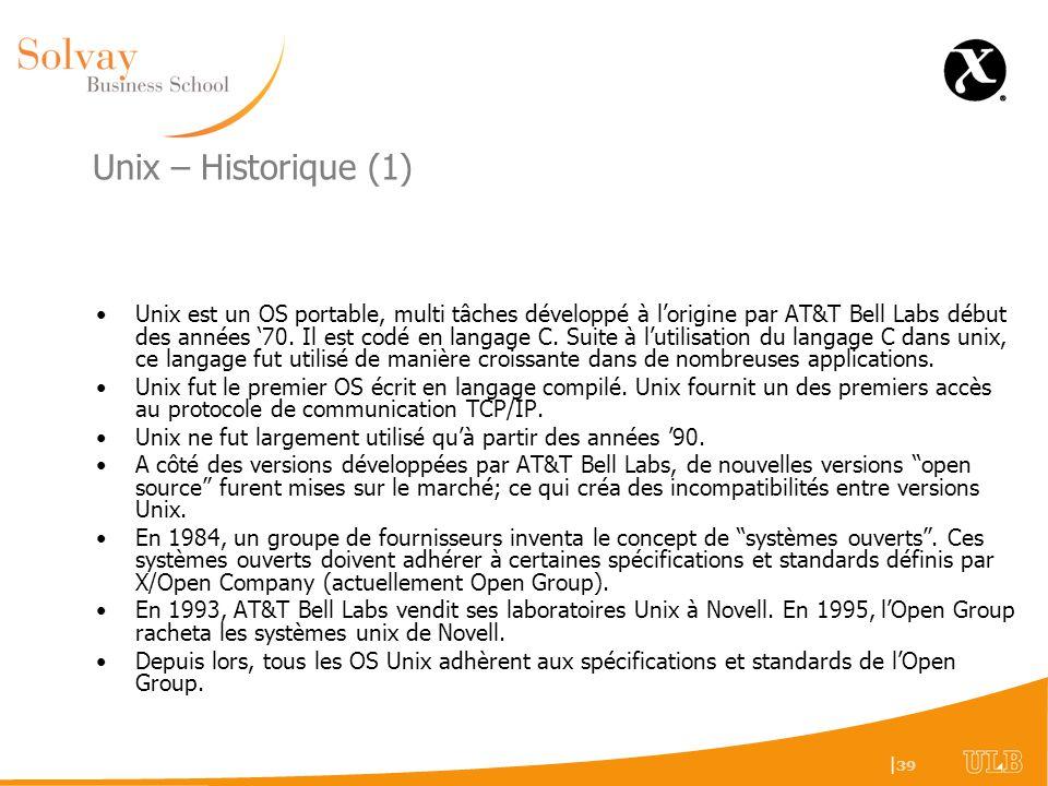 Unix – Historique (1)