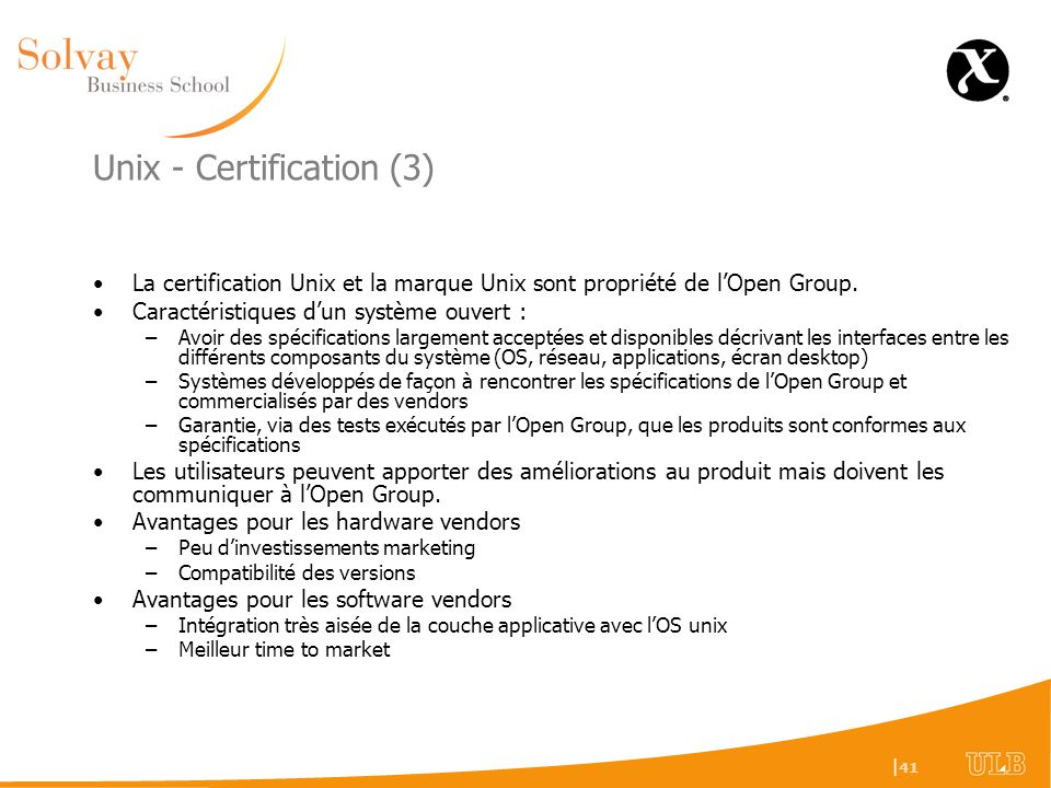 Unix - Certification (3)