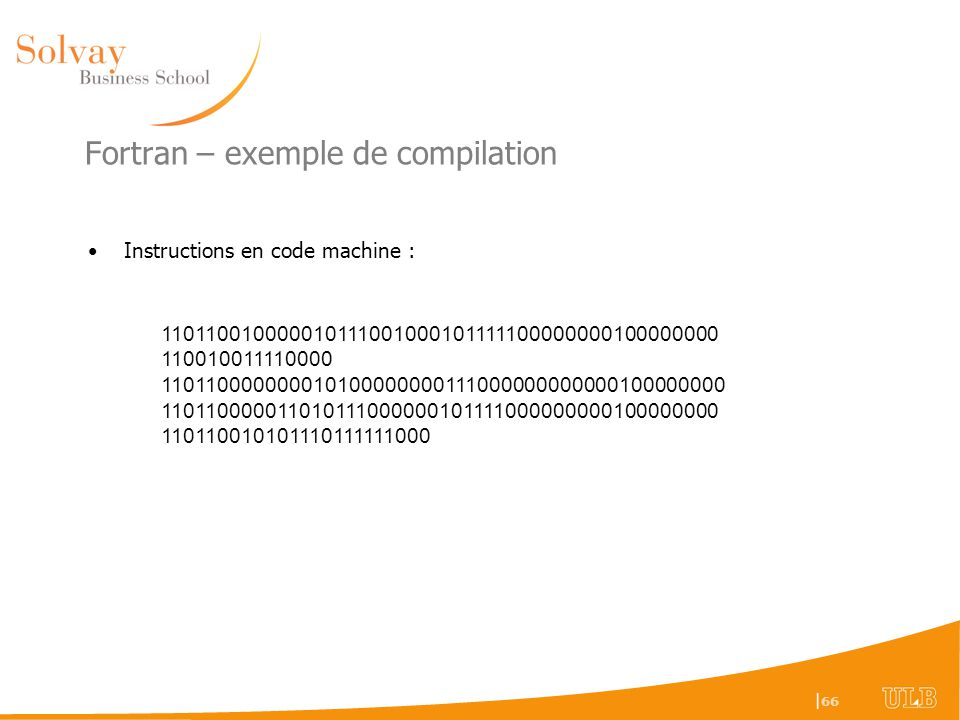Fortran – exemple de compilation