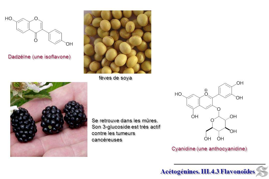 Acétogénines. III.4.3 Flavonoïdes