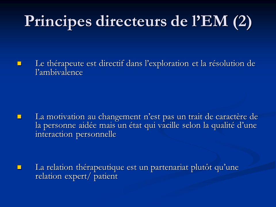 Principes directeurs de l'EM (2)