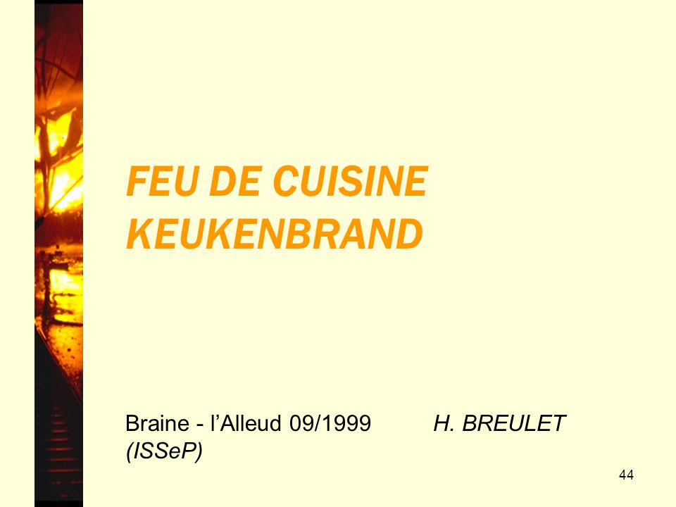 FEU DE CUISINE KEUKENBRAND