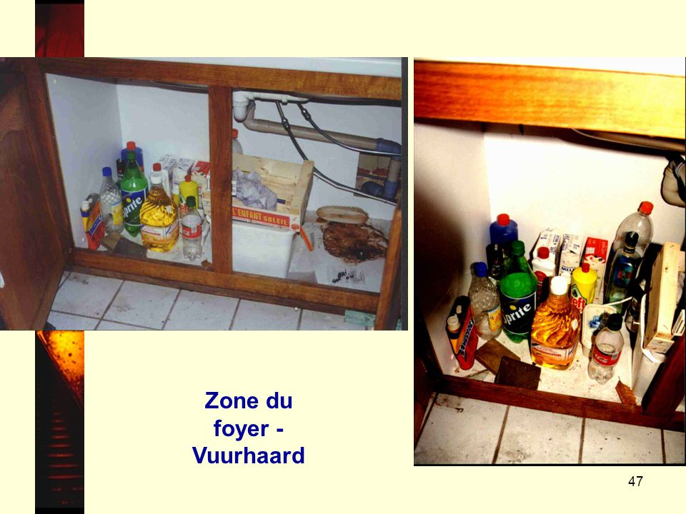 Zone du foyer - Vuurhaard