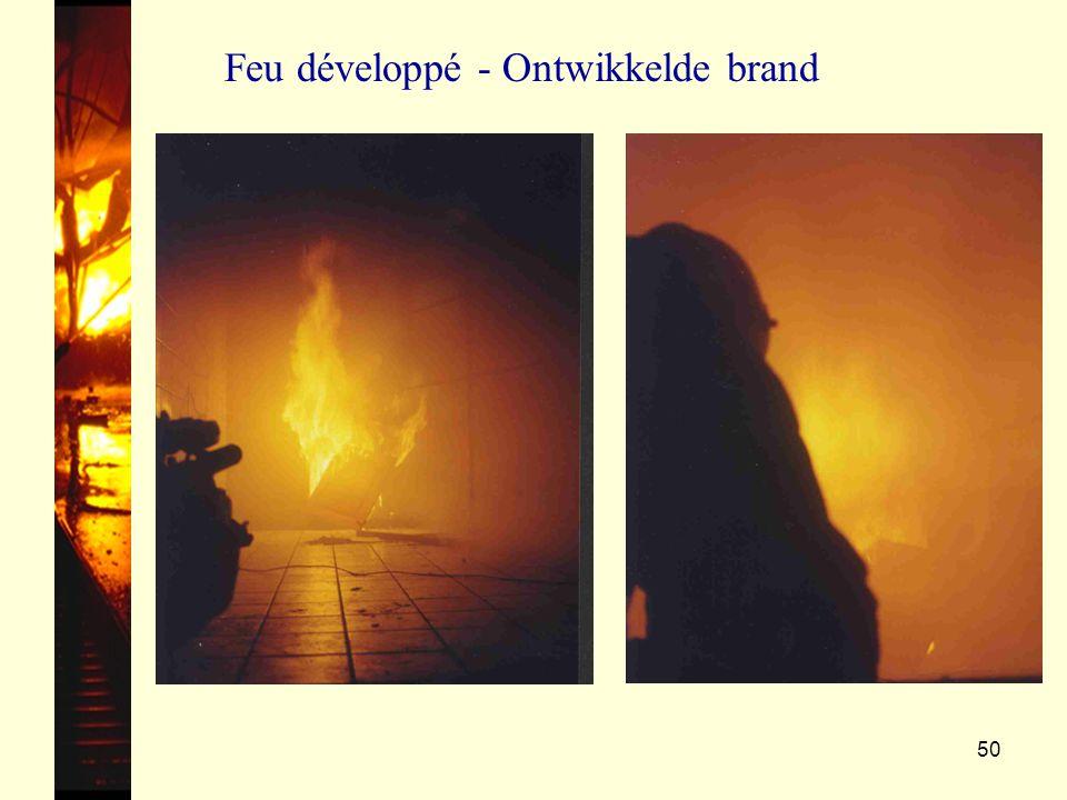 Feu développé - Ontwikkelde brand