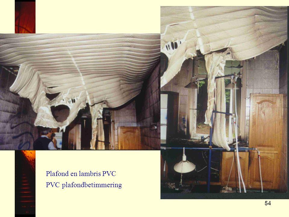 Plafond en lambris PVC PVC plafondbetimmering