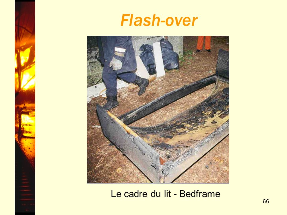 Flash-over Le cadre du lit - Bedframe