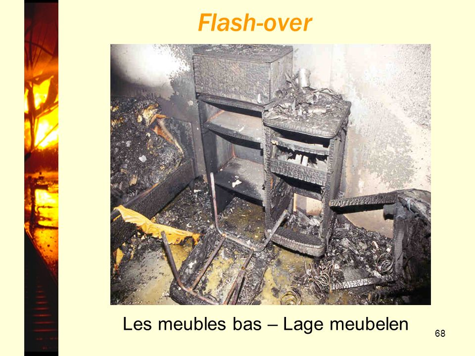 Flash-over Les meubles bas – Lage meubelen