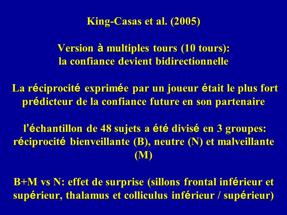 King-Casas et al.