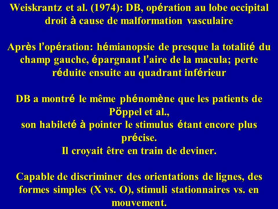 Weiskrantz et al.