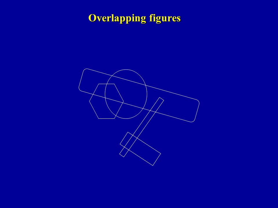 Overlapping figures
