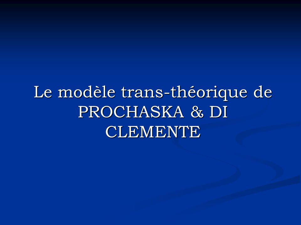 Le modèle trans-théorique de PROCHASKA & DI CLEMENTE