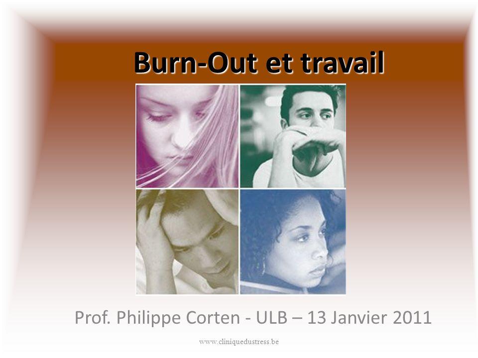 Prof. Philippe Corten - ULB – 13 Janvier 2011