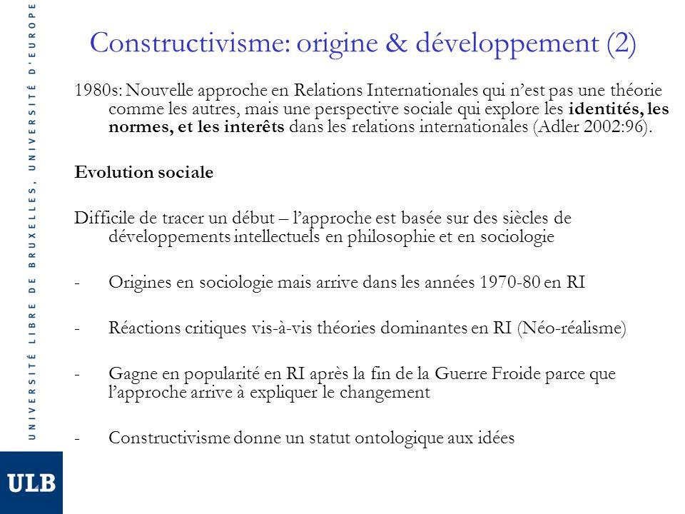 Constructivisme: origine & développement (2)
