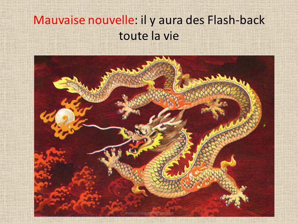 Mauvaise nouvelle: il y aura des Flash-back toute la vie
