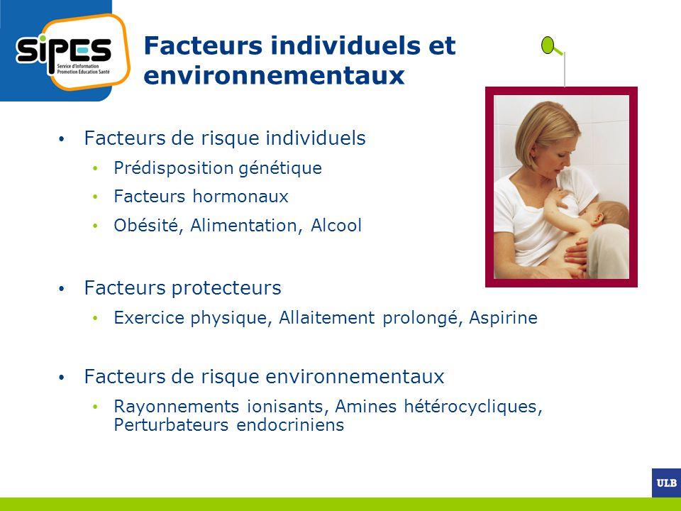 Facteurs individuels et environnementaux