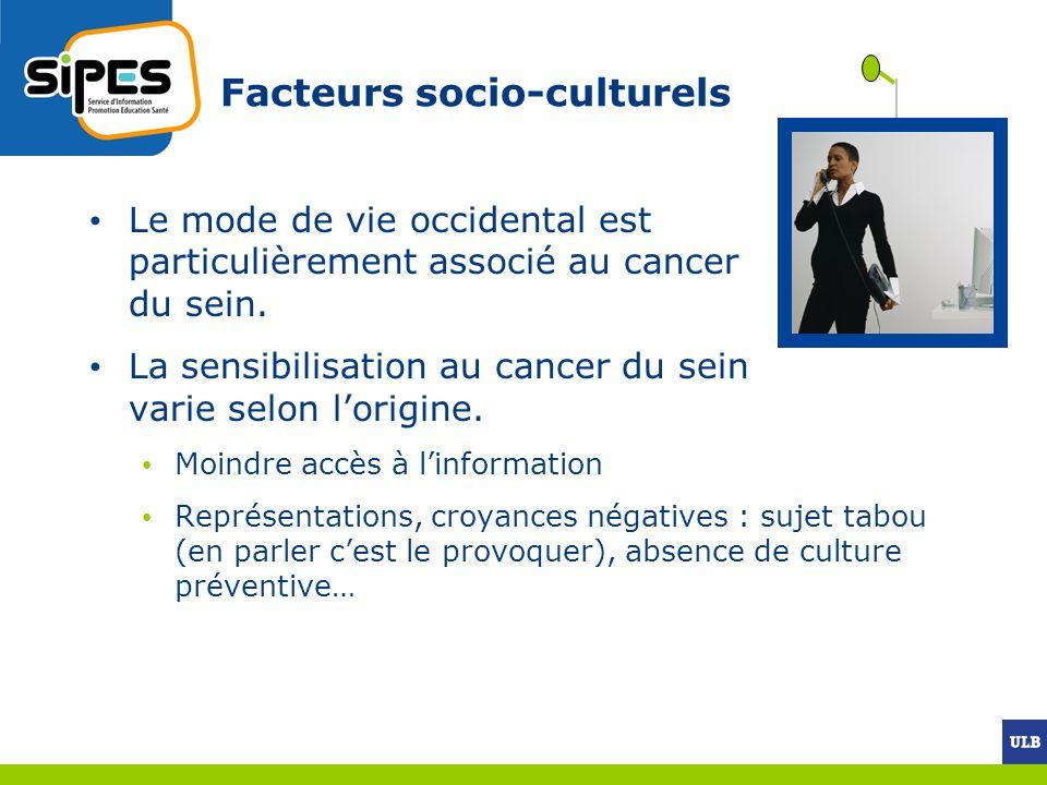 Facteurs socio-culturels