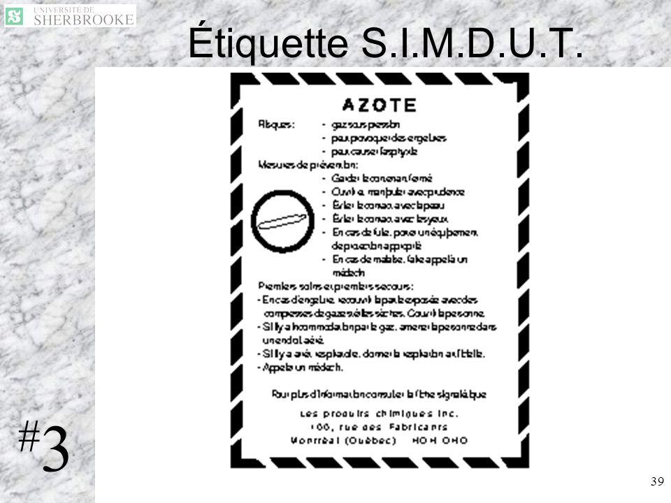 Étiquette S.I.M.D.U.T. #3