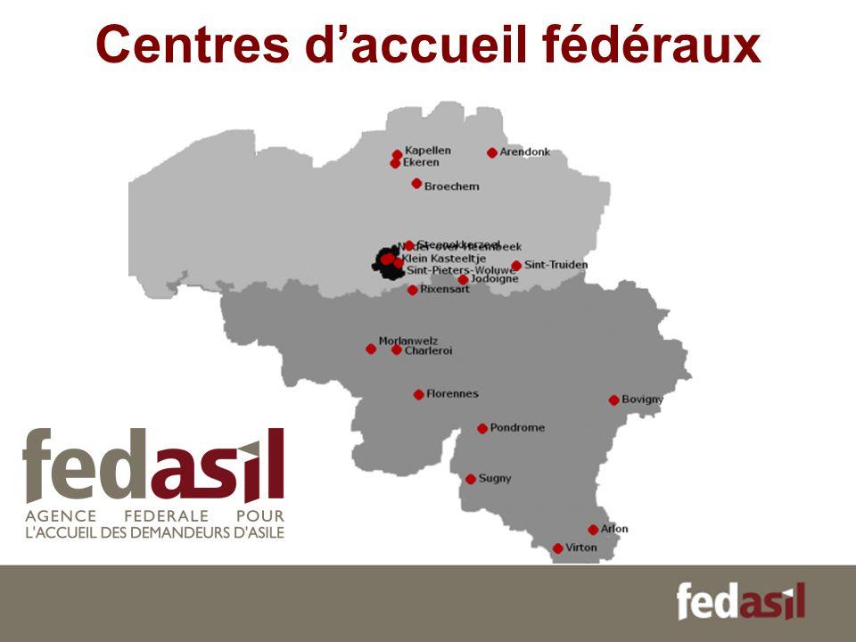 Centres d'accueil fédéraux