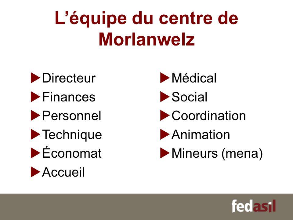 L'équipe du centre de Morlanwelz