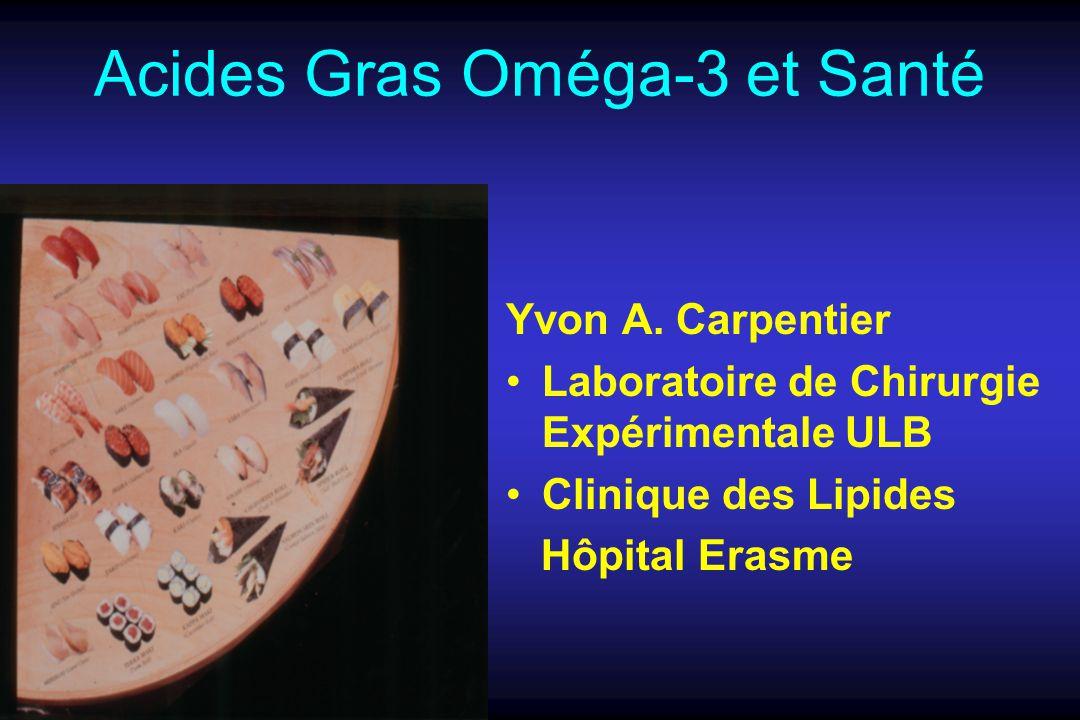 Acides Gras Oméga-3 et Santé