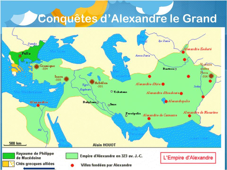 Conquêtes d'Alexandre le Grand
