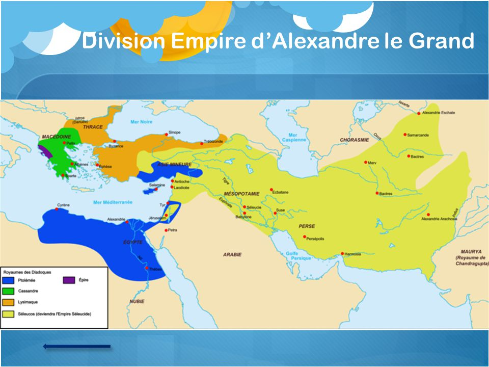 Division Empire d'Alexandre le Grand