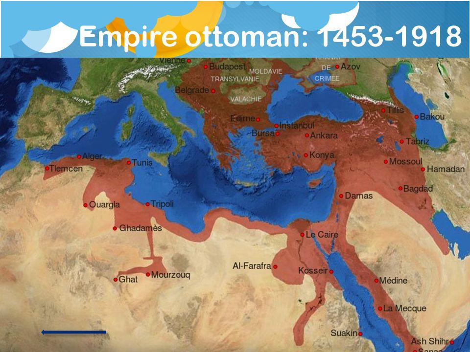 Empire ottoman: 1453-1918