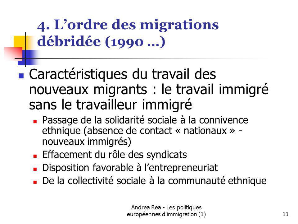 4. L'ordre des migrations débridée (1990 …)