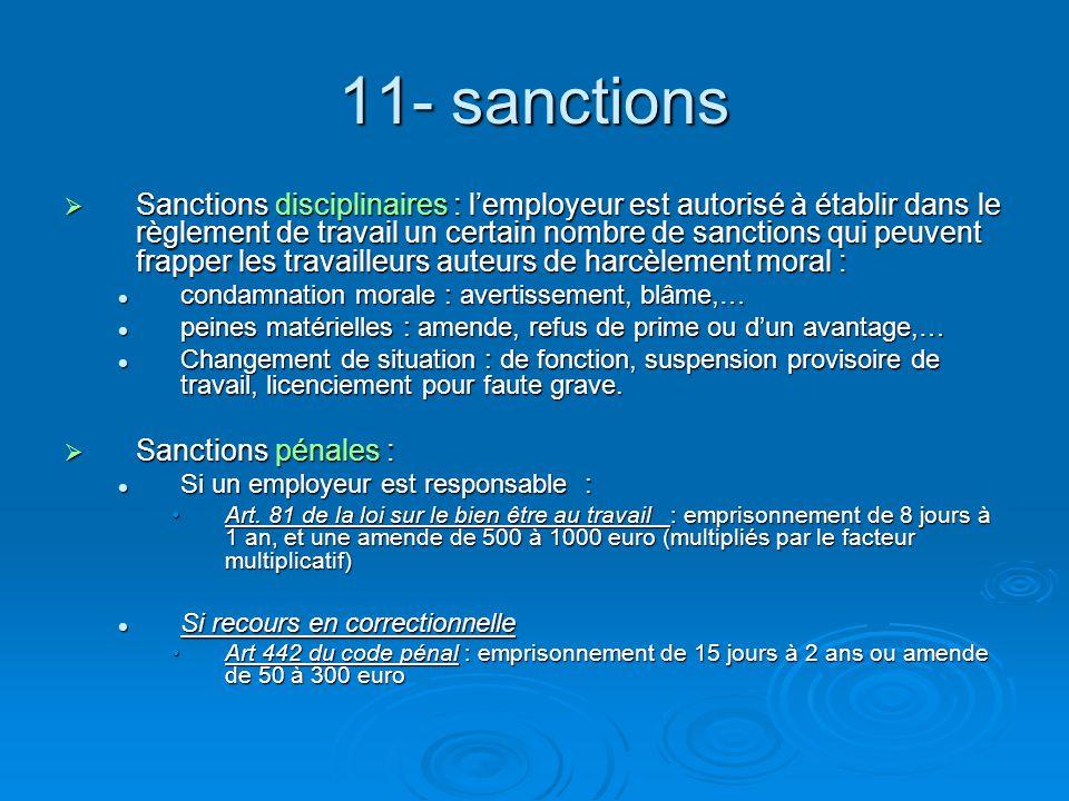 11- sanctions