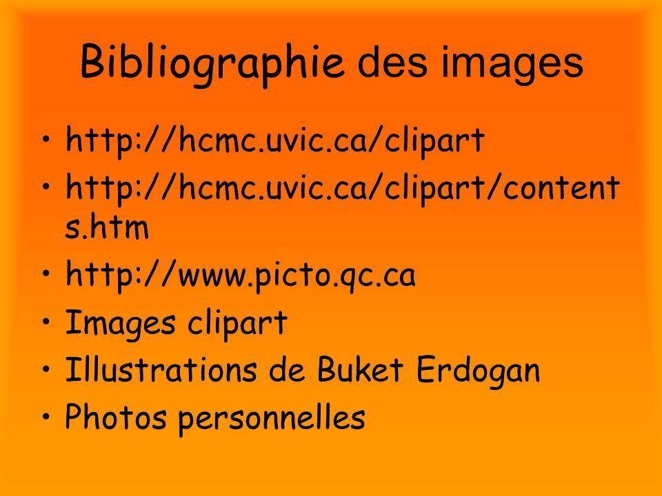 Bibliographie des images
