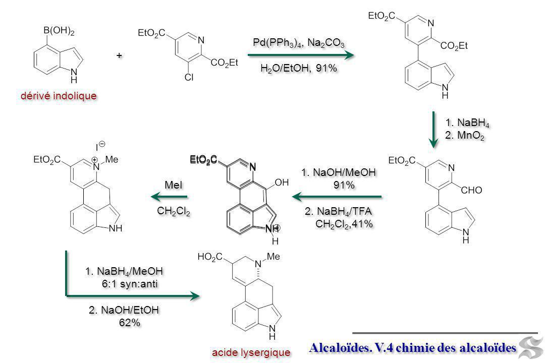 Alcaloïdes. V.4 chimie des alcaloïdes