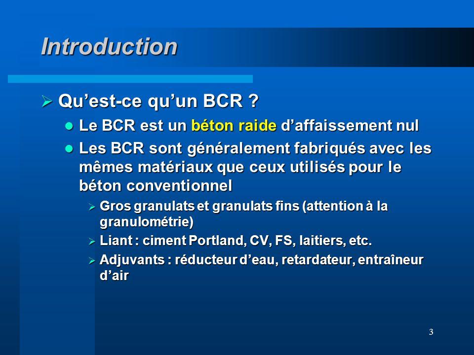 Introduction Qu'est-ce qu'un BCR