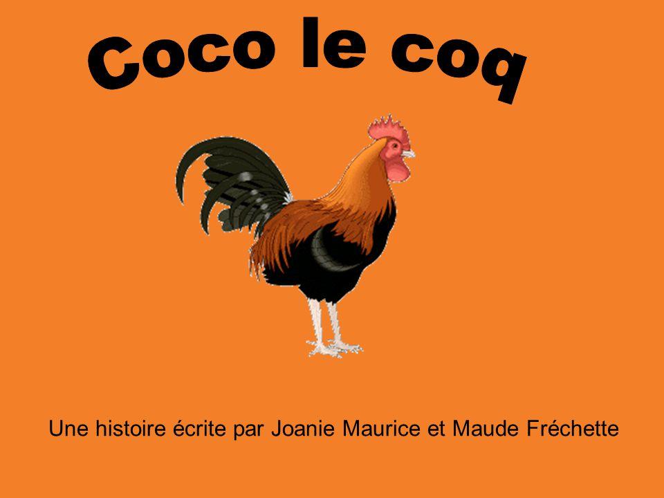Une histoire écrite par Joanie Maurice et Maude Fréchette