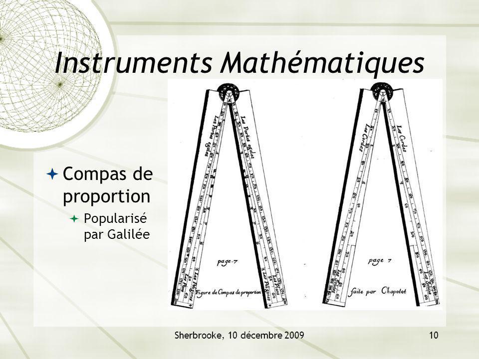 Instruments Mathématiques