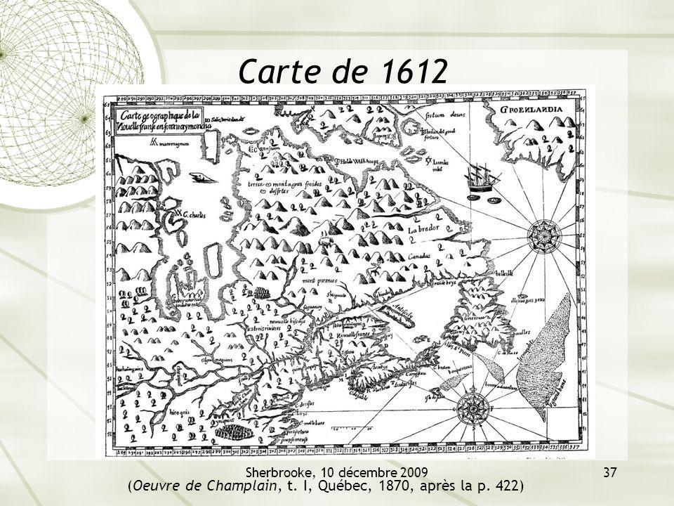 (Oeuvre de Champlain, t. I, Québec, 1870, après la p. 422)