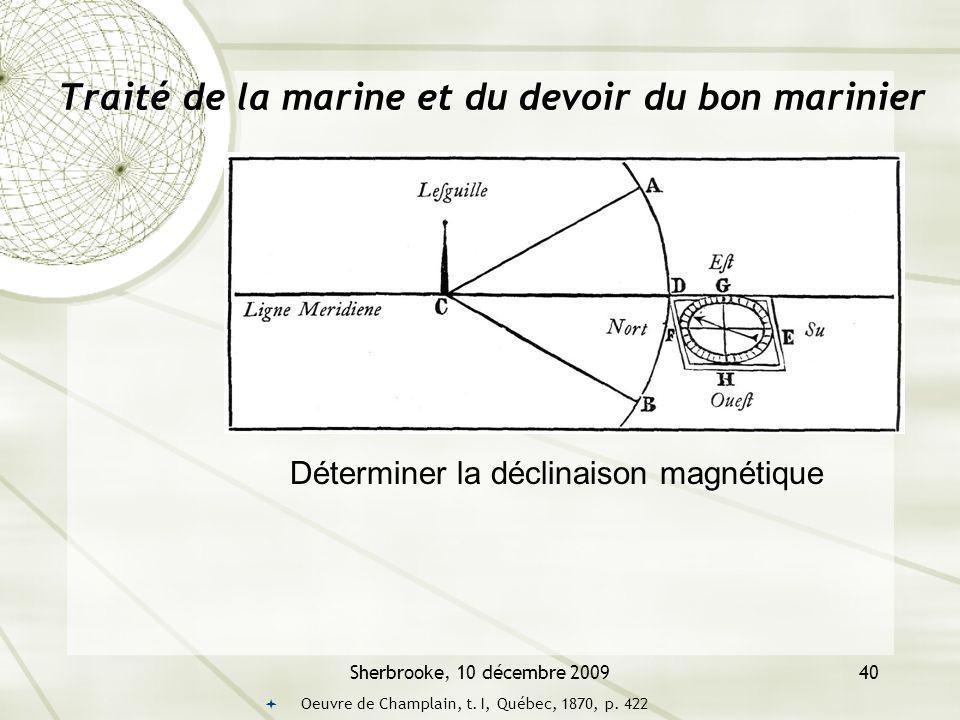 Traité de la marine et du devoir du bon marinier
