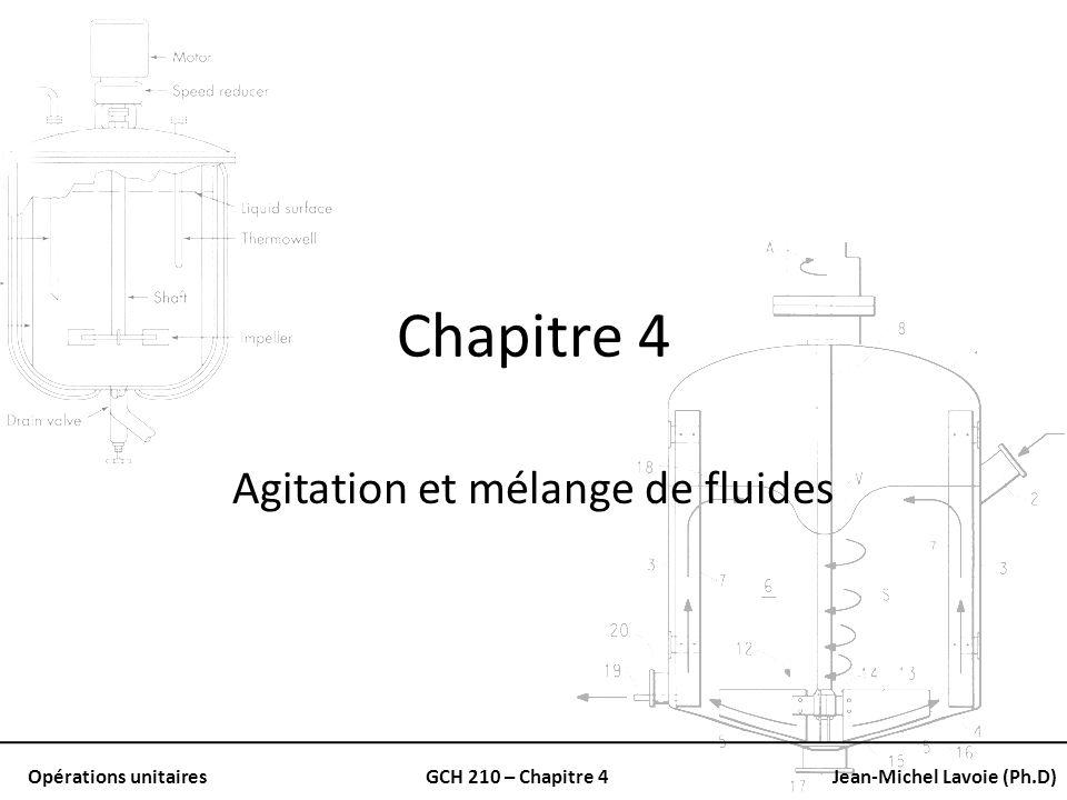 Agitation et mélange de fluides